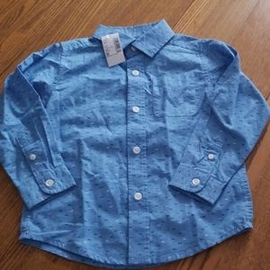 Nwt Children's Place button down